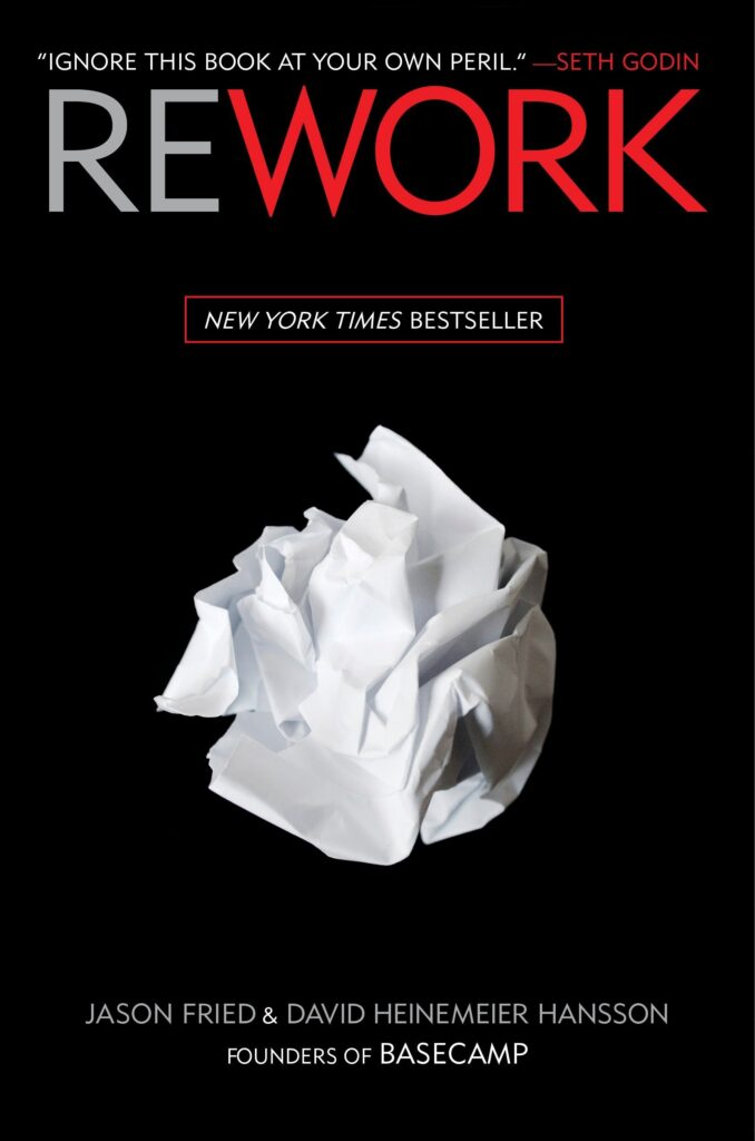 Rework book summary